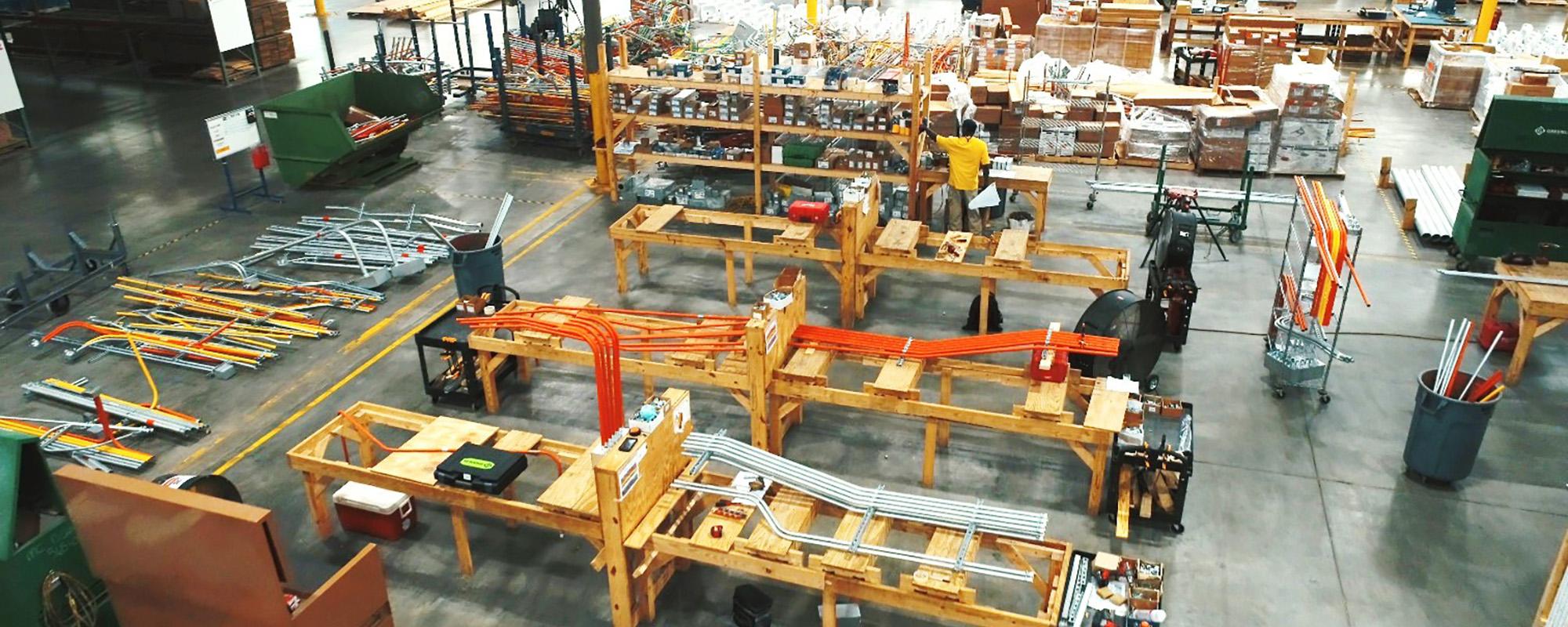 MUSC Prefabrication Warehouse