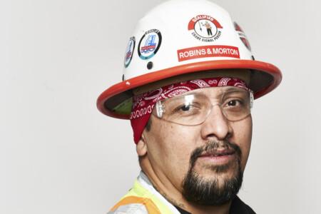 construction worker headshot
