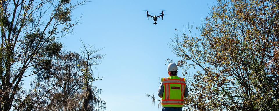 drone flight header
