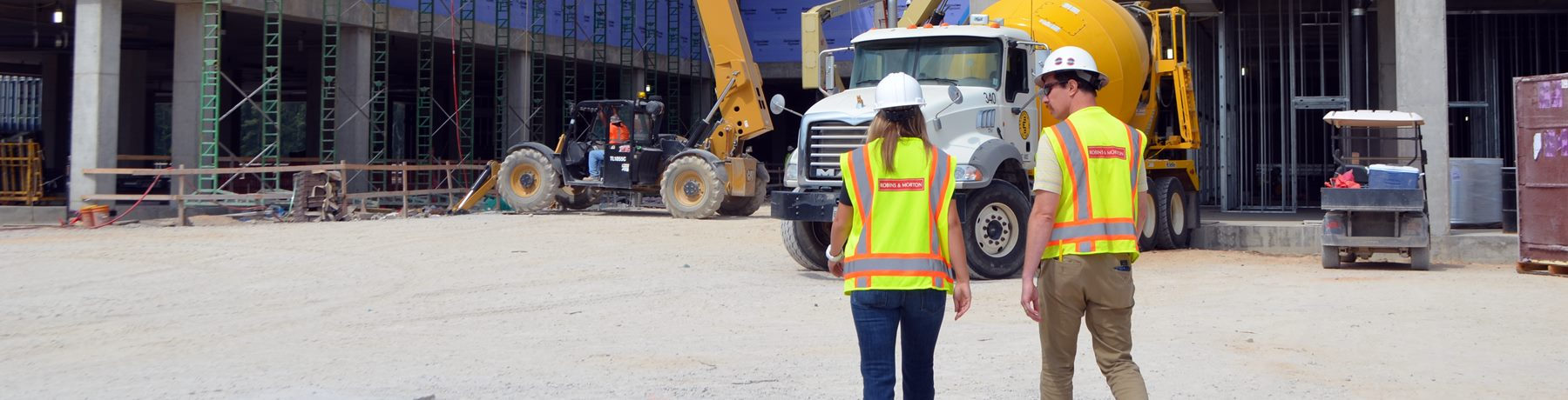 onsite a construction project