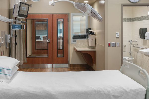 hospital patient room