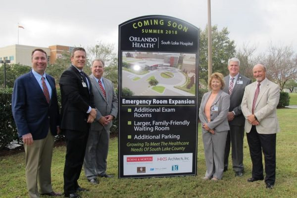Robins & Morton, South Lake Hospital celebrate hospital expansion groundbreaking