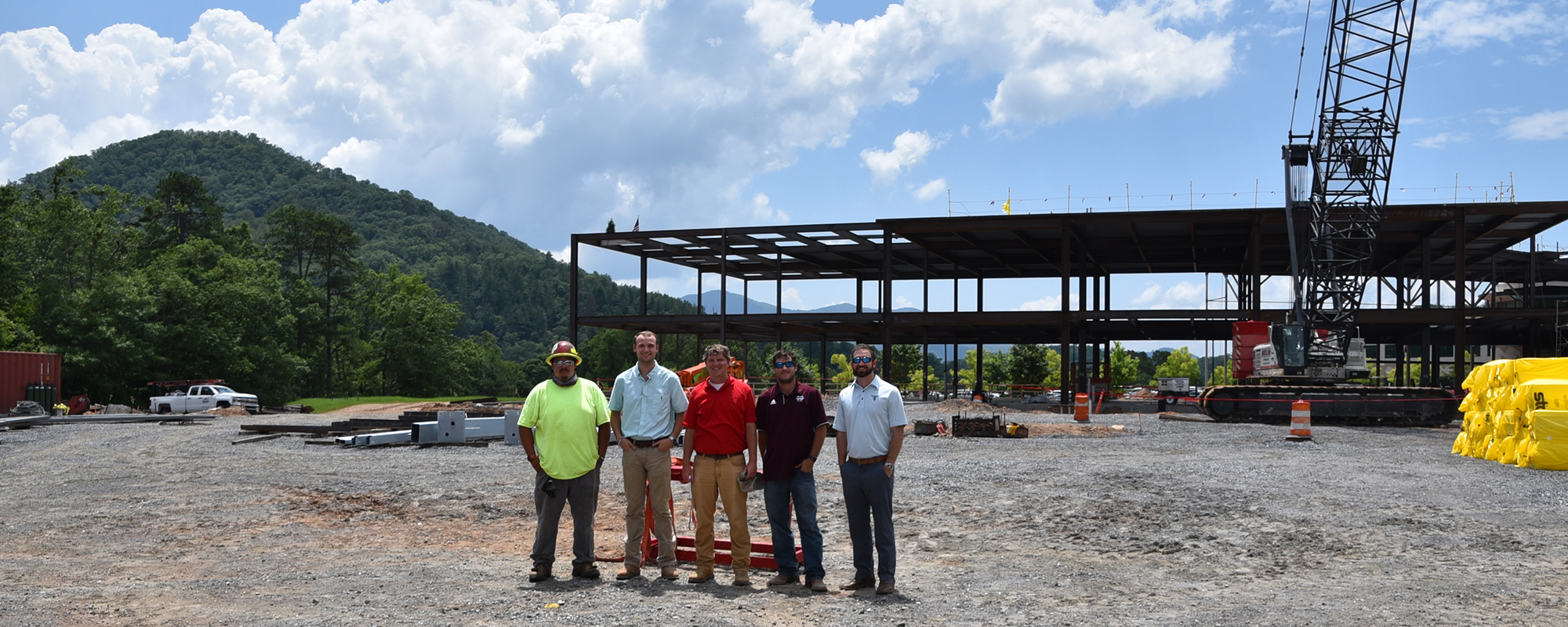 Robins & Morton, Cherokee Indian Hospital Authority Top Out Phase II, Crisis Stabilization Unit